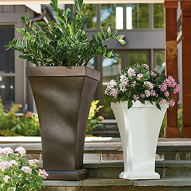 Stonebridge Easy-Care Tapered Planter