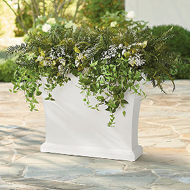 Stonebridge Easy-Care Rectangular Planter