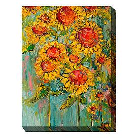 Canvas Wall Art Sunflowers