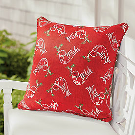Christmas Dove Pillow