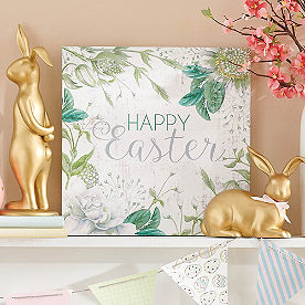 Easter Blooms Canvas