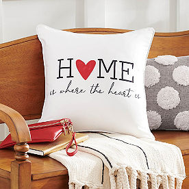 Where the Heart Is Pillow