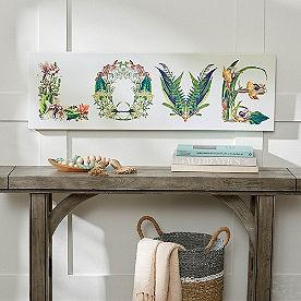 Floral Love Wall Art