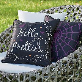 Hello My Pretties Reversible Pillow