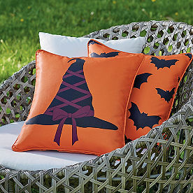Witch Hat Reversible Pillow