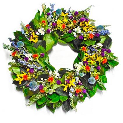 Nice Spring Garden Wreath
