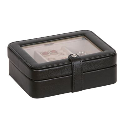 Rio Faux Leather Jewelry Box Grandin Road