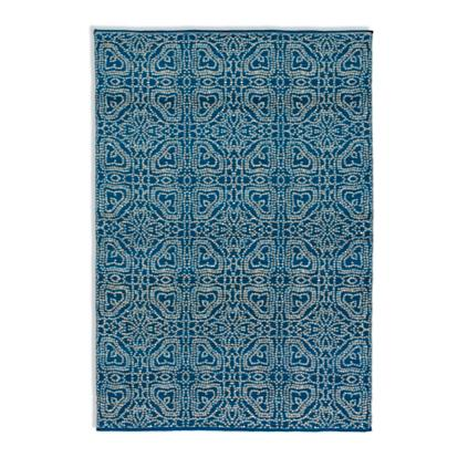 Well-known Magnolia Home by Joanna Gaines Emmie Kay Rug in Navy and Cream  VY07