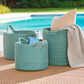Mayfield Outdoor Storage Baskets
