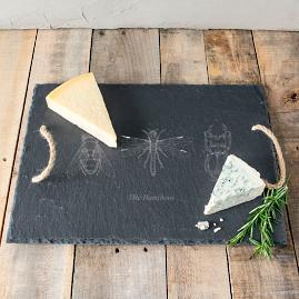 Personalized Insect Slate Serving Tray