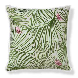 Blakely Pillow 22in Palm Leaf