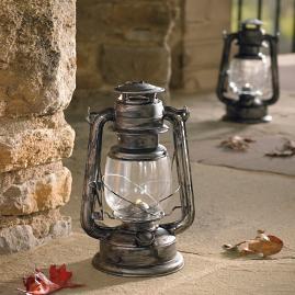 Battery Operated Lanterns, Set of Two