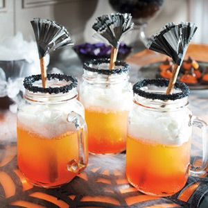 Trick or Treat Old Fashioned Drinking Jars
