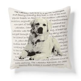 Labrador Heritage Throw Pillow