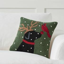 Christmas Companion Pillow, Ruby