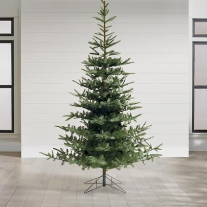 un lit noblis fir artificial christmas tree - Artificial Christmas Trees