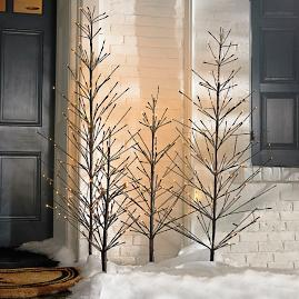 Battery-operated Outdoor Twig Tree