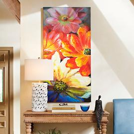 Full Bloom Canvas Wall Art