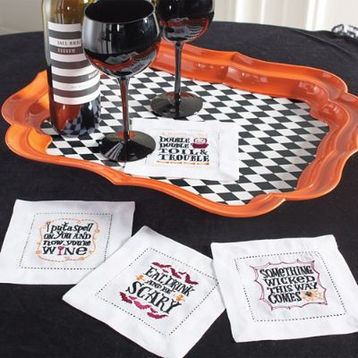 Boo-Tiful Harlequin Tray