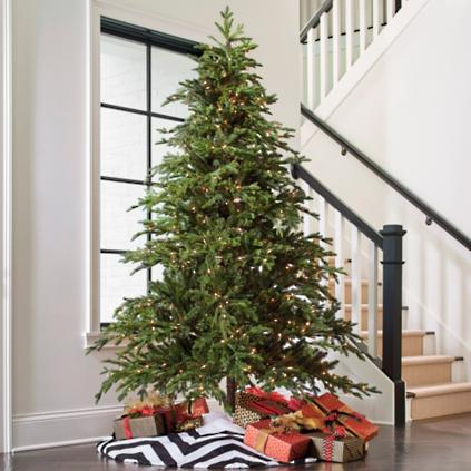 majestic fraser fir artificial christmas tree - Fake Christmas Trees