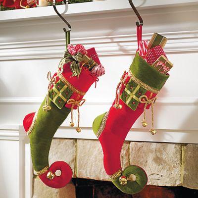 Presents Stocking Grandin Road