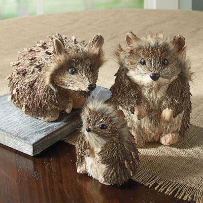 Hedgehog Family Set Of Three Grandin Road