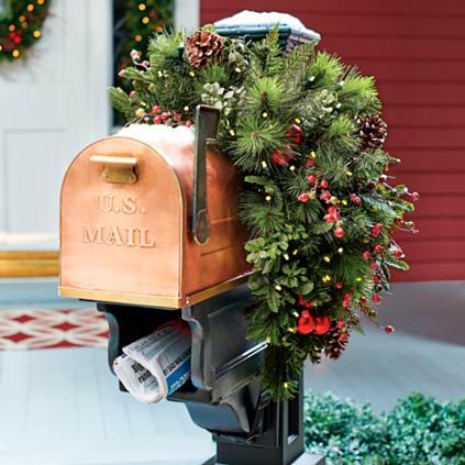 Mackinley Cordless Mailbox Swag Grandin Road