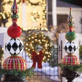 Presents Stack Topiary Grandin Road