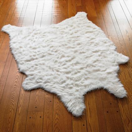 faux fur sheepskin rug
