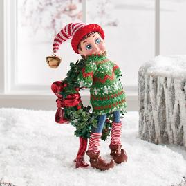 Louie Elf Fa La La Figure