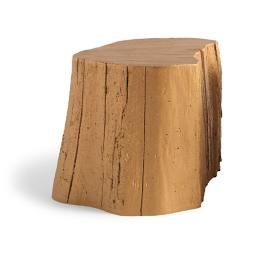 Bronze Tree Stump Tables by David Bromstad