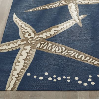 Starfish Outdoor Rug Grandin Road
