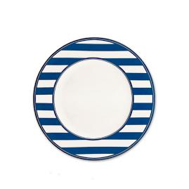 Beach Towel Stripe Salad Plate