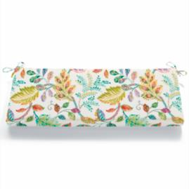 Knife Edge Patterned Bench Cushion