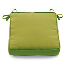 Double Piped Solid Seat Cushion
