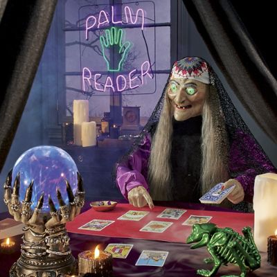 Animated Zaltana Fortune Teller Grandin Road