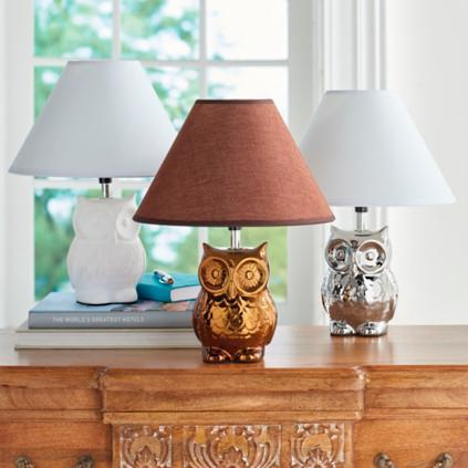 Owl table lamp grandin road owl table lamp mozeypictures Choice Image