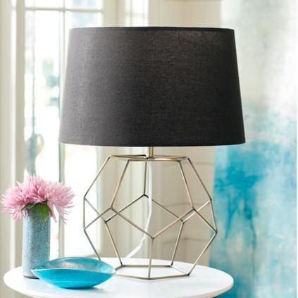 Geo Wire Table Lamp | Grandin Road