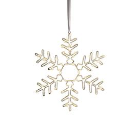 "Battery Operated 18"" Microlight Snowflake I"