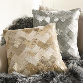 Deco Natural Hide Pillow