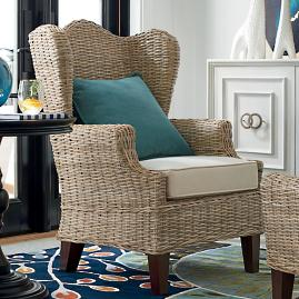 Kent Club Chair and Ottoman