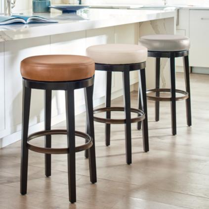 main height low wfih h stools back bar frontgate and b henning stool counter