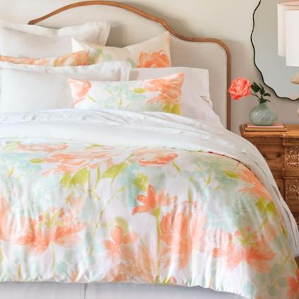 camille floral duvet cover