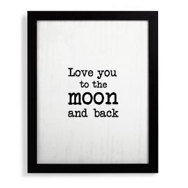 Love You to the Moon and Back Wall