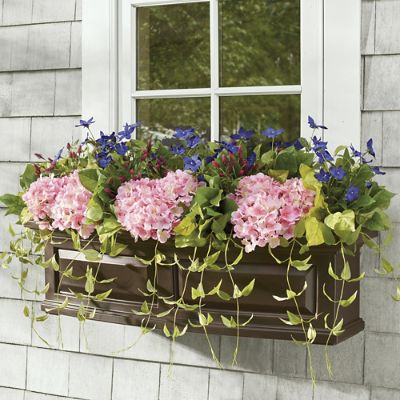 Butterfly Garden Window Box Filler Grandin Road