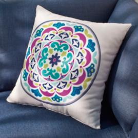 Penelope Maya Outdoor Pillow