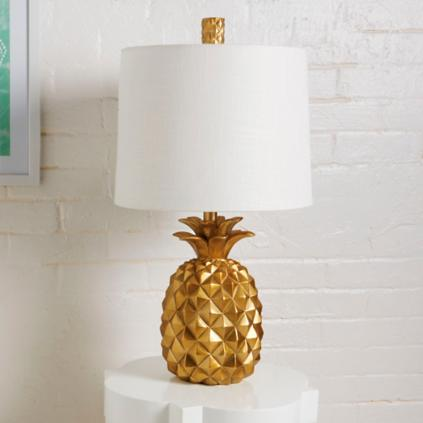 Fabulous Pineapple Table Lamp | Grandin Road VC53