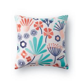 Fleur Multi Embroidered Pillow