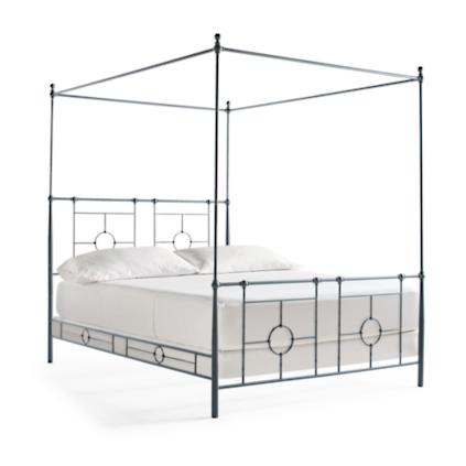 parker metal canopy bed