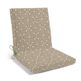 Knife Edge Highback Chair Cushion